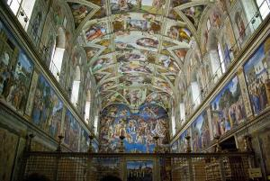 the Sistine Chapel by Antoine Taveneaux